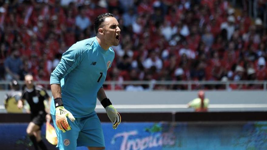 Costa Rica se despide con goleada y Keylor Navas recibe un homenaje