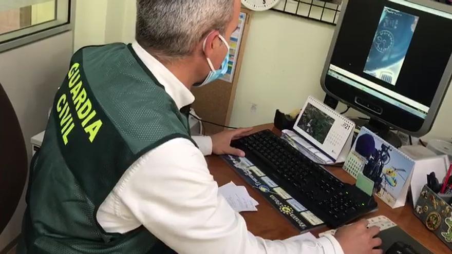 La Guardia Civil identifica a un vecino de Carballo que se grabó a 200 km/h por la AG-55