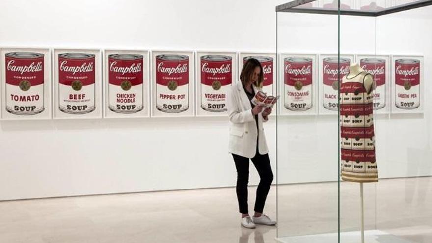 'Warhol. El arte mecánico', mejor exposición del año 2018