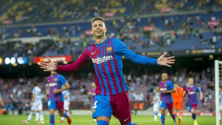 Piqué: «No jugo al Barça per ser segon o tercer»