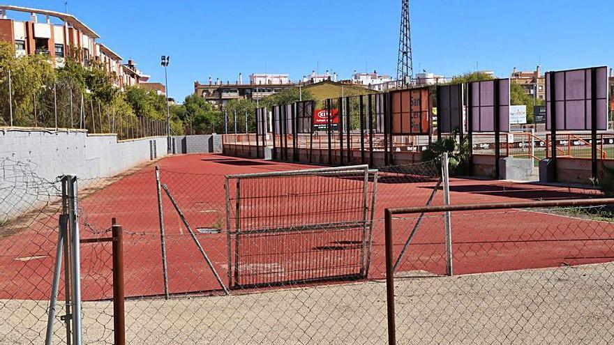 Torrent realizará en el Sant Gregori dos campos de fútbol 5