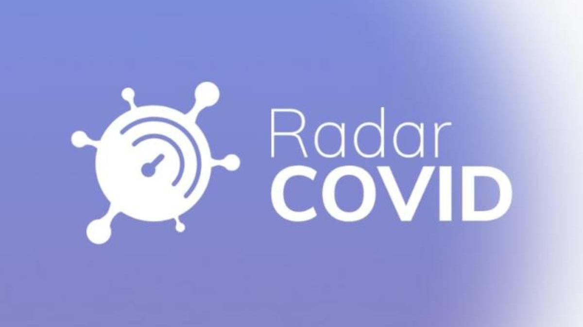 Interfaz de la aplicación de rastreo de casos de coronavirus Radar Covid.