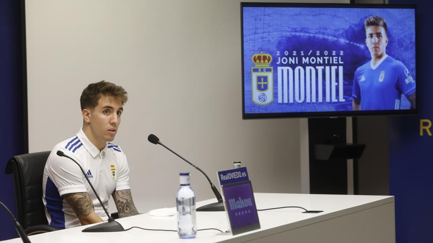 """Joni Montiel: """"El Oviedo tiene equipo para luchar por todo"""""""