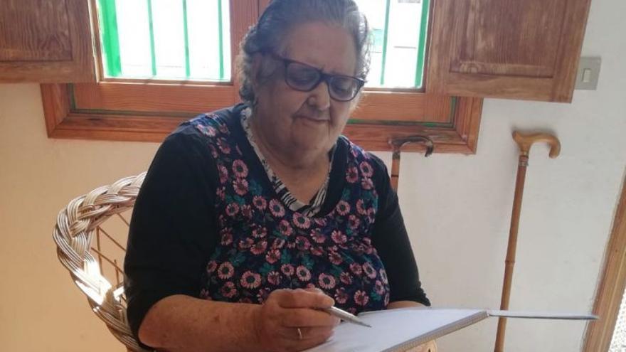 """Muere por covid Vicenta, una """"mujer formidable"""" de Lanzarote"""