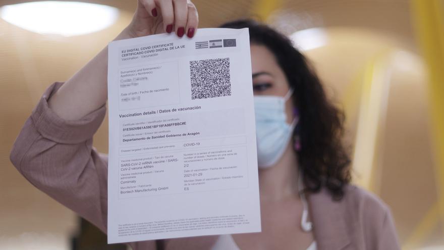 España ha emitido ya 11 millones de pasaportes digitales covid