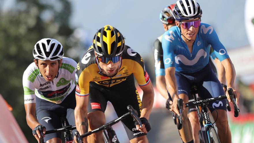 Los favoritos ponen la mira en Roglic en la fase decisiva de la Vuelta