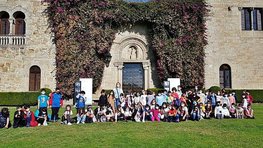 El Concello de Sada programa las primeras visitas de los escolares del municipio al pazo de Meirás