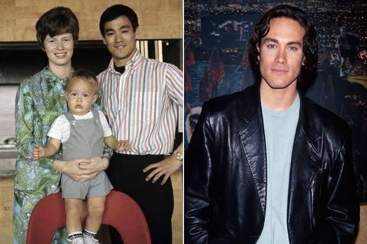 El hijo de Bruce Lee, Brandon, murió rodando El Cuervo. Su hermana, Shannon, también es actriz y está viva.