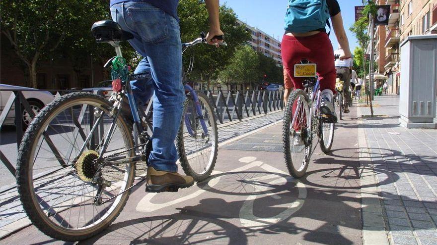Mil ciclistas circulan al día por el carril bici de Al Nasir