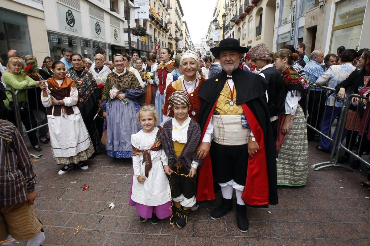 El Pilar y los mayores
