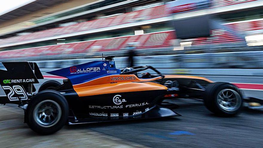 Campos calienta motores en Jerez tras la temporada