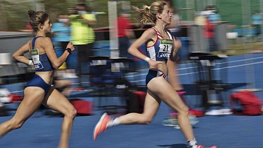 Els nostres atletes inicien l'estatal amb el podi lluny i volent millorar marques