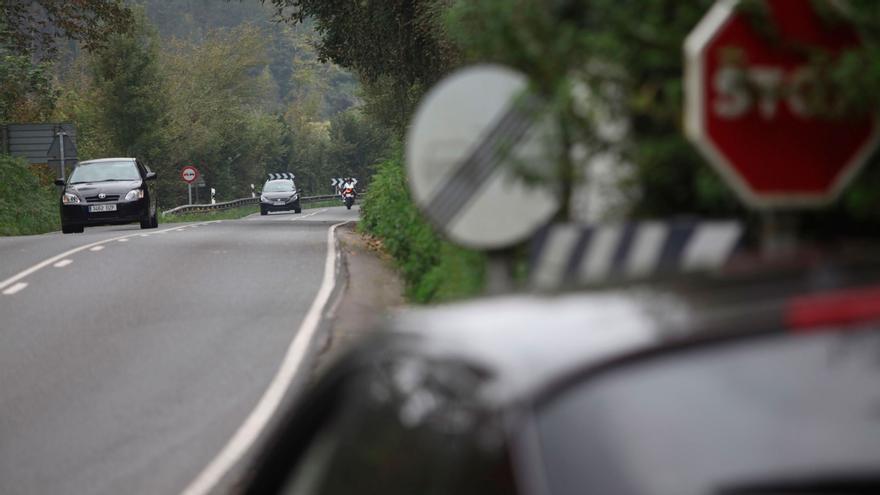 Este es, según un estudio, el tramo de carretera más peligroso de Asturias