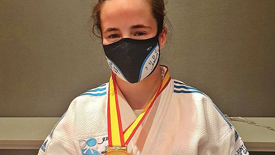 Tres medallas coruñesas en el Nacional absoluto