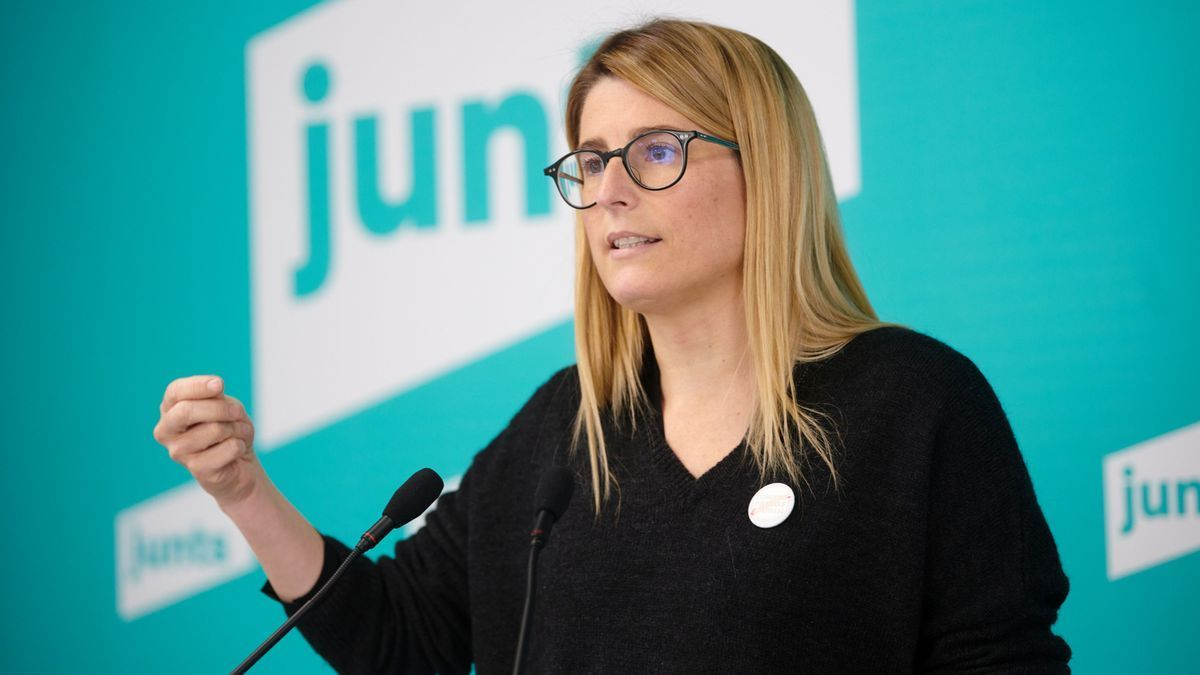 La diputada de Junts X Catalunya (JxCat) Elsa Artadi.