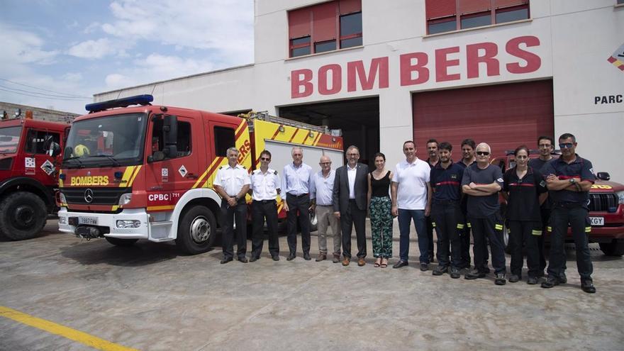 Diputación saca todo su arsenal para combatir en Castellón los incendios en plena ola de calor