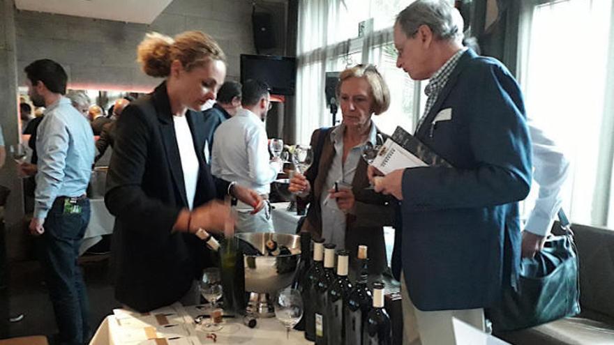Los vinos de la Isla se promocionan en Alemania