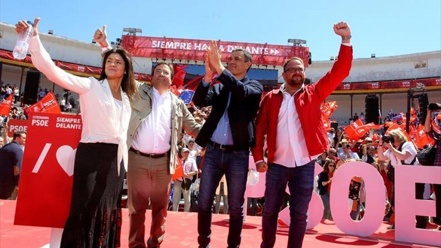 Los socialistas ganan en Mérida en cinco de los seis distritos electorales