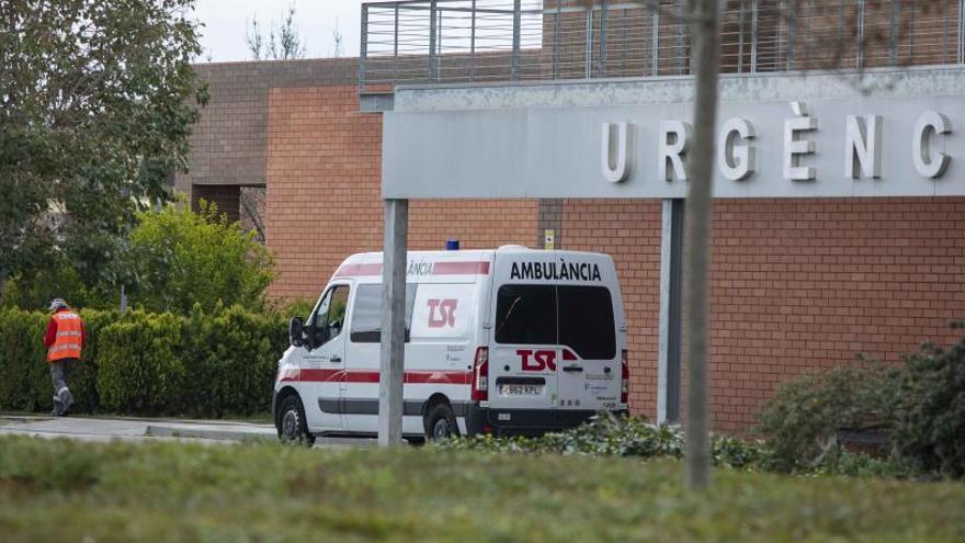 76 ingressats amb coronavirus a l'Hospital d'Igualada, dos d'ells sanitaris en estat greu