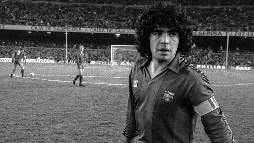 'Maradona, un cromo arrugado', por J. Cañete