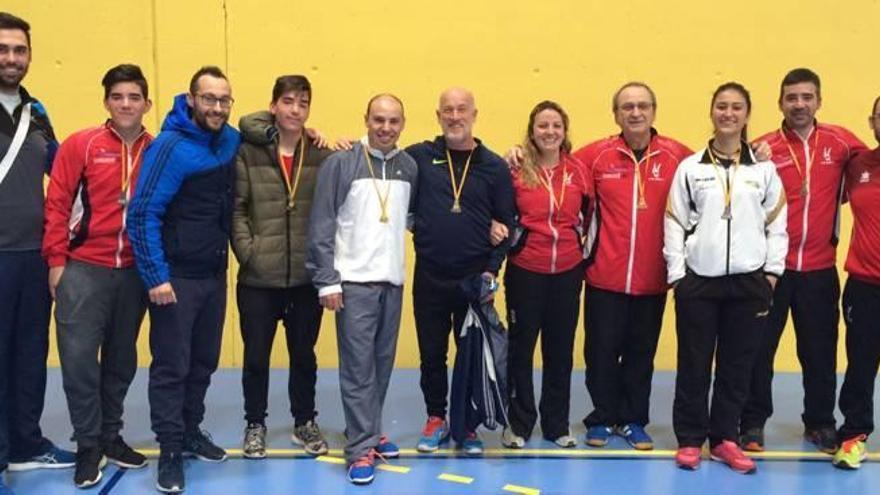 El Bádminton Xàtiva vence en el Autonómico sub-19 y senior