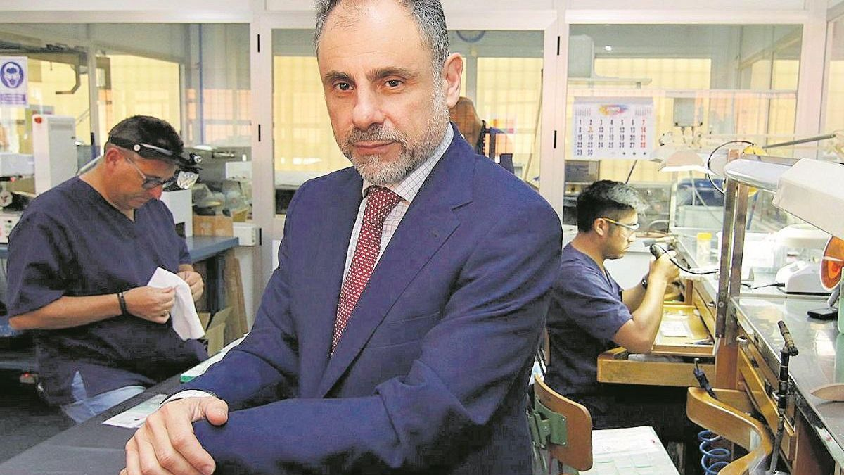 Rafael Ruiz: «Las ventas de joyería caen entre el 40 y el 70 por ciento»