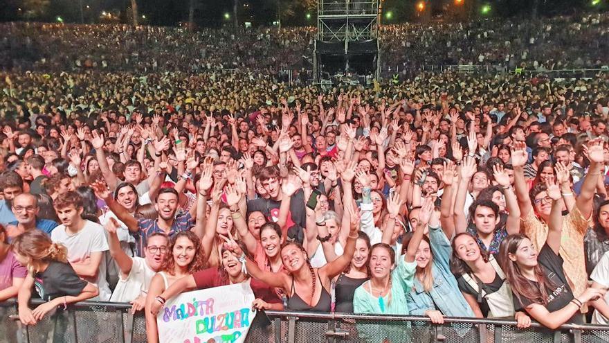 El Concello cifra en más de 500.000 los asistentes a los conciertos en Castrelos