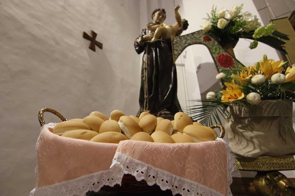 Pan bendito por San Antonio
