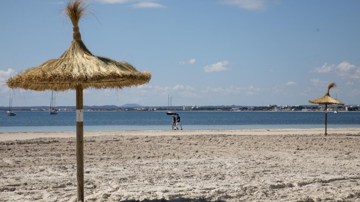 Alerta amarilla por calor con hasta 36 grados en Mallorca