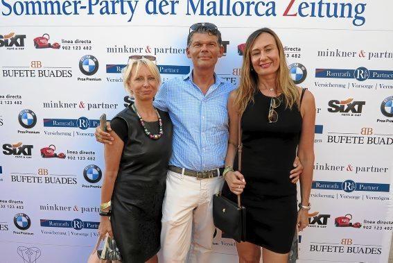 Angela Zerahn, Michael Breithaupt und Lilia Häckmann