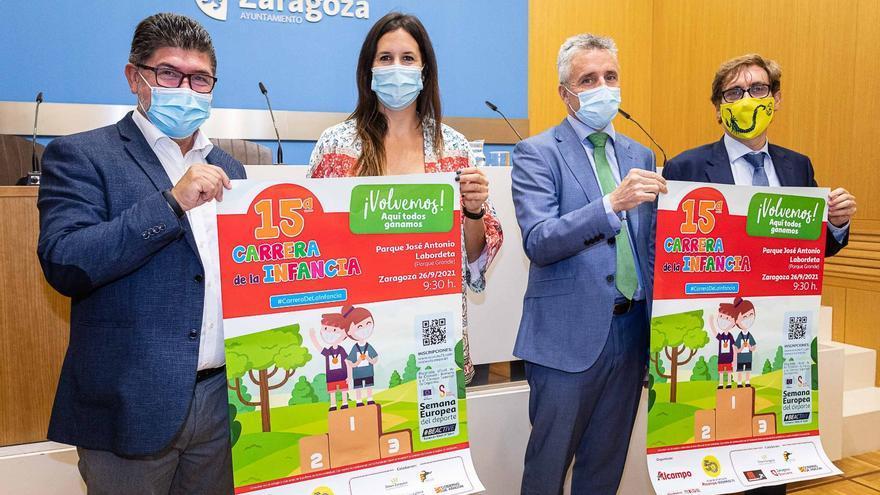 La Carrera de la Infancia contará con cerca de 1.600 niños en Zaragoza