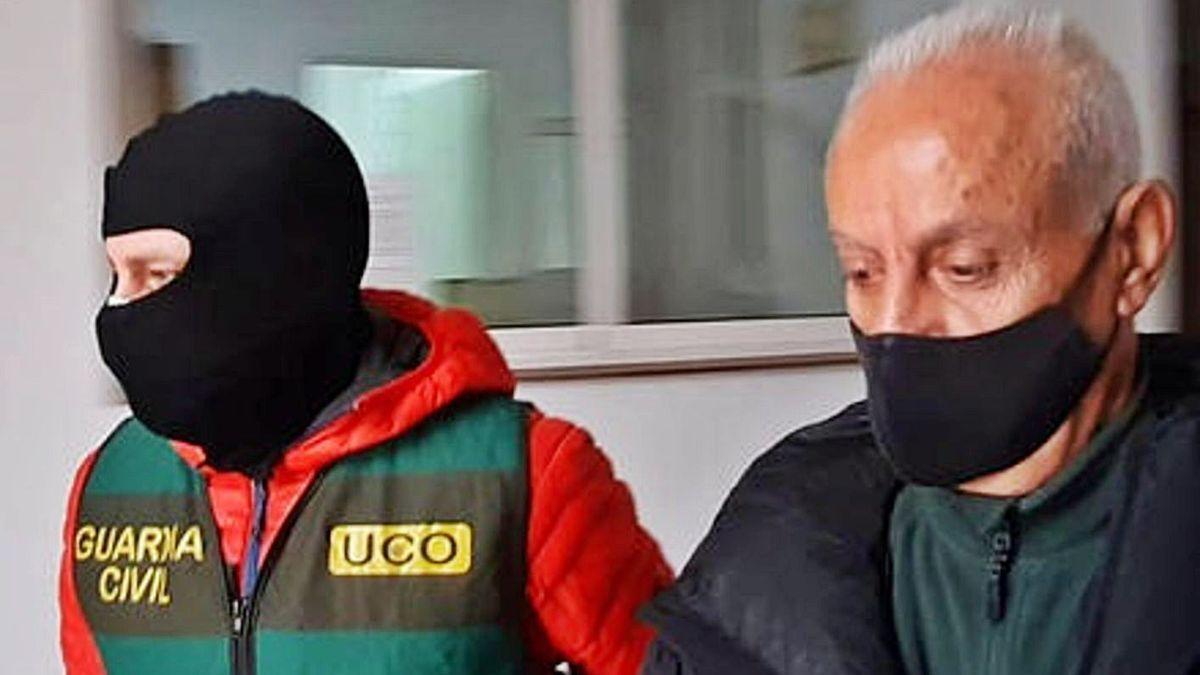 El fugitivo detenido en Estepona por la Guardia Civil.