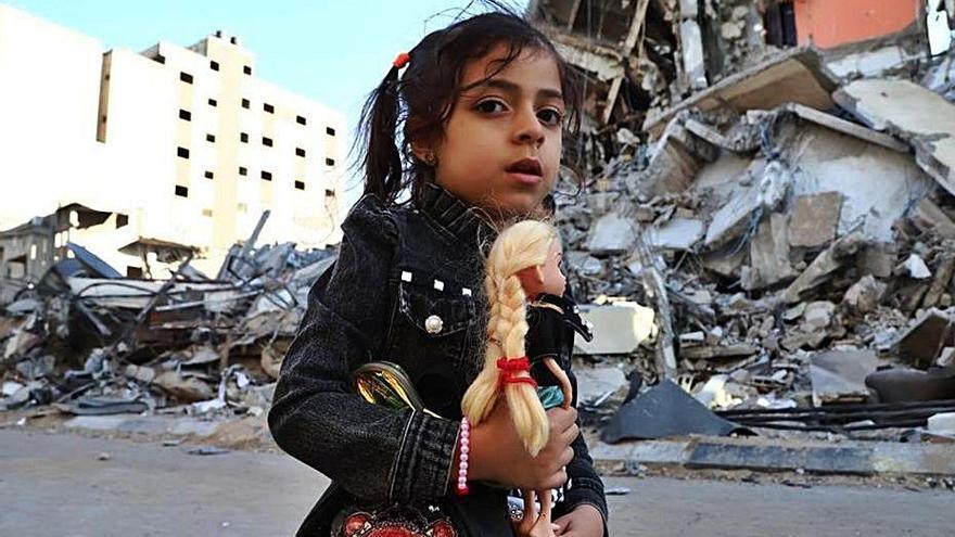 Gaza es queda sense infraestructures després de 9 dies de bombardejos
