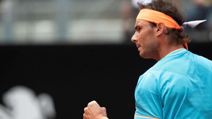 Nadal se cobra la revancha ante Tsitsipas y jugará la final de Roma contra Djokovic