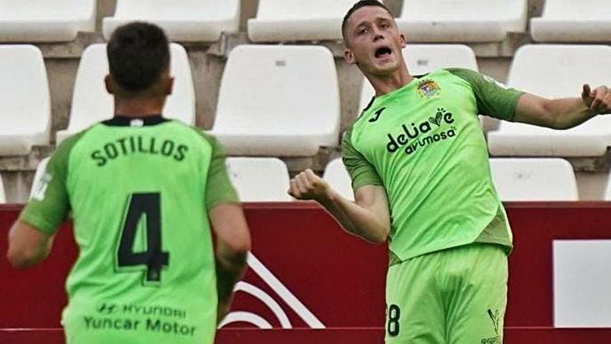 Borja Garcés se une a la lista de candidatos para la delantera del Málaga CF