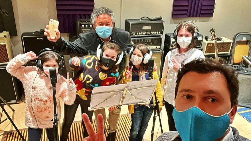 Pipo Prendes, nuevo proyecto con la Escuela de Música de Carreño
