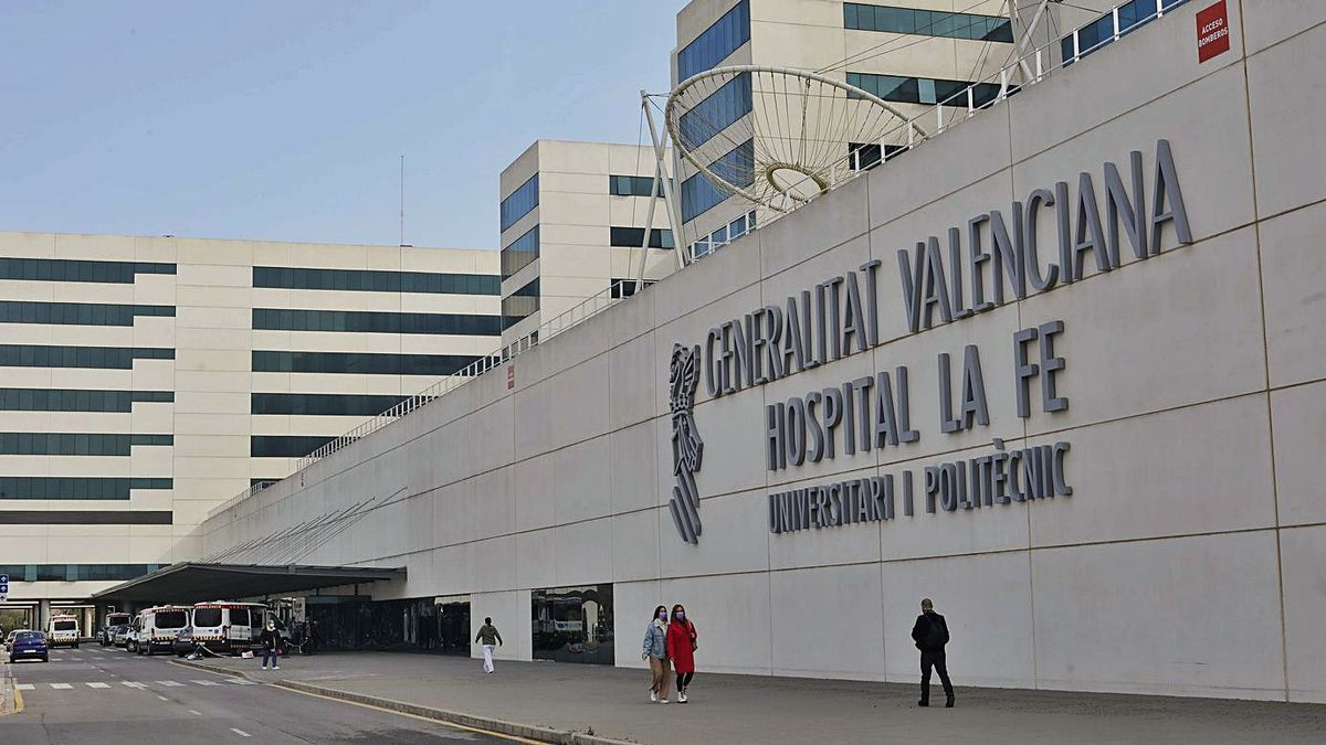 El pequeño permanece ingresado en la Unidad de Pediatría del Hospital La Fe.