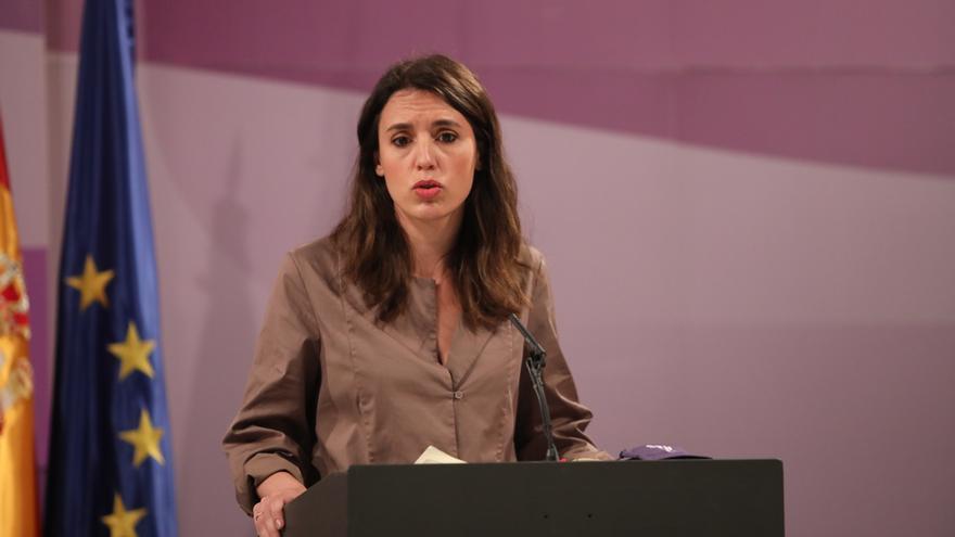 """Montero: """"Las víctimas de violencia machista están desprotegidas en Madrid"""""""