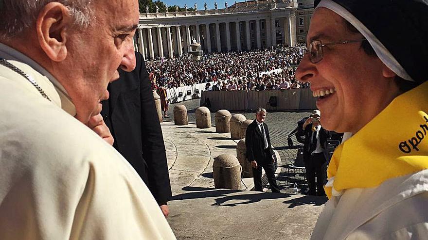 Sor Lucía és la nova priora de Santa Clara amb missatge de felicitació del Papa inclòs