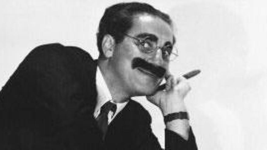 Cuarenta años sin Groucho Marx, el genio de la comedia