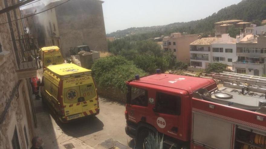 Arde la vivienda de una mujer que iba a ser desahuciada en Palma
