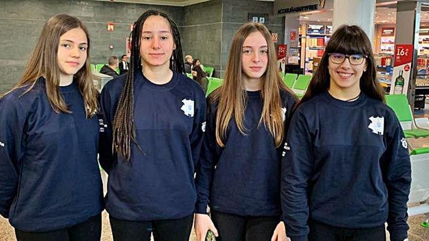 Cuatro coruñesas, en la selección gallega