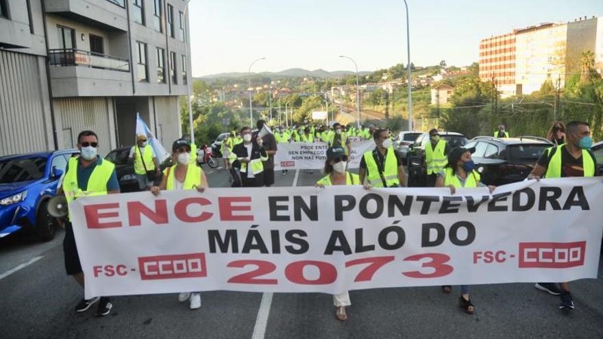 "CC OO busca un frente común de todos los afectados para que ""Ence permanezca en Lourizán"""