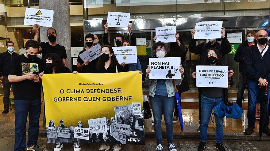 Manifestación para la defensa del medio ambiente