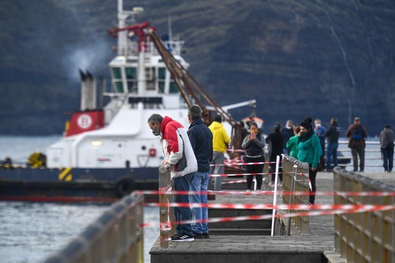 Nuevo intento de reflotar el ferry de Fred Olsen