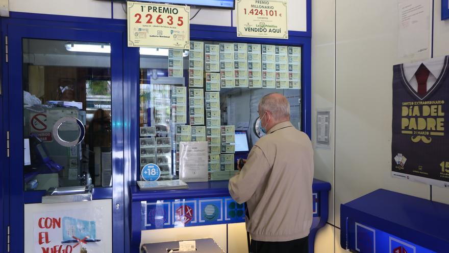 Los loteros malagueños pedirán mejores comisiones en Madrid