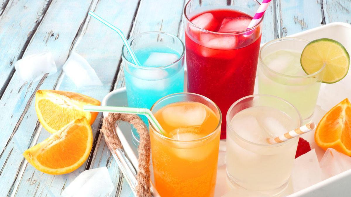 Bebidas para el verano.