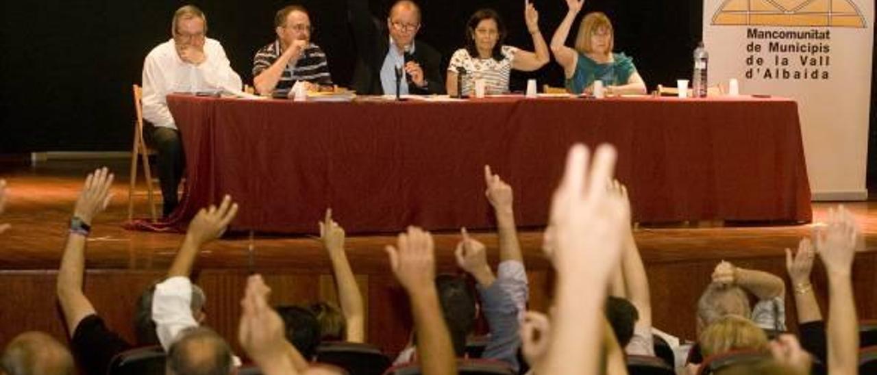 Los estatutos de la Mancomunitat duplican el peso de Ontinyent y dejarían al PP sin mayoría