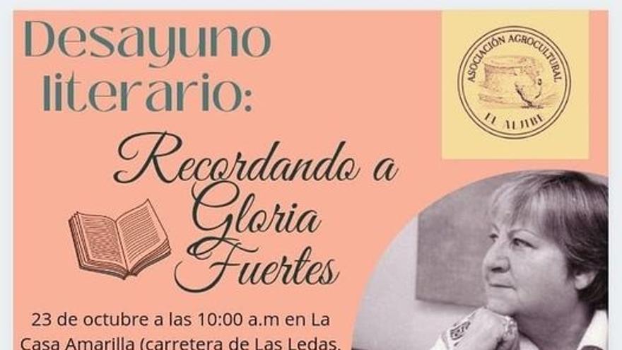 Desayuno literario Recordando a Gloria Fuertes