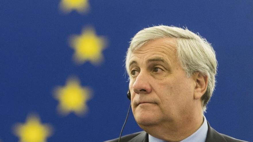 """Tajani responde a Puigdemont: """"Sólo estoy a las órdenes de mi conciencia"""""""
